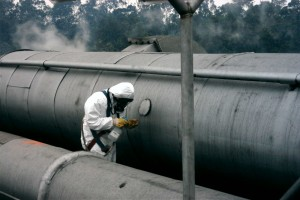 inspección de amianto
